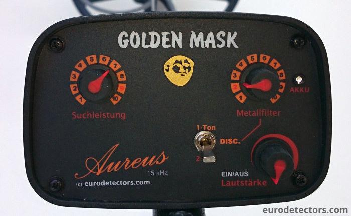 Golden Mask Aureus Metalldetektor