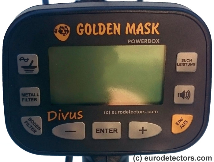 Golden Mask Divus V2 Metalldetektor