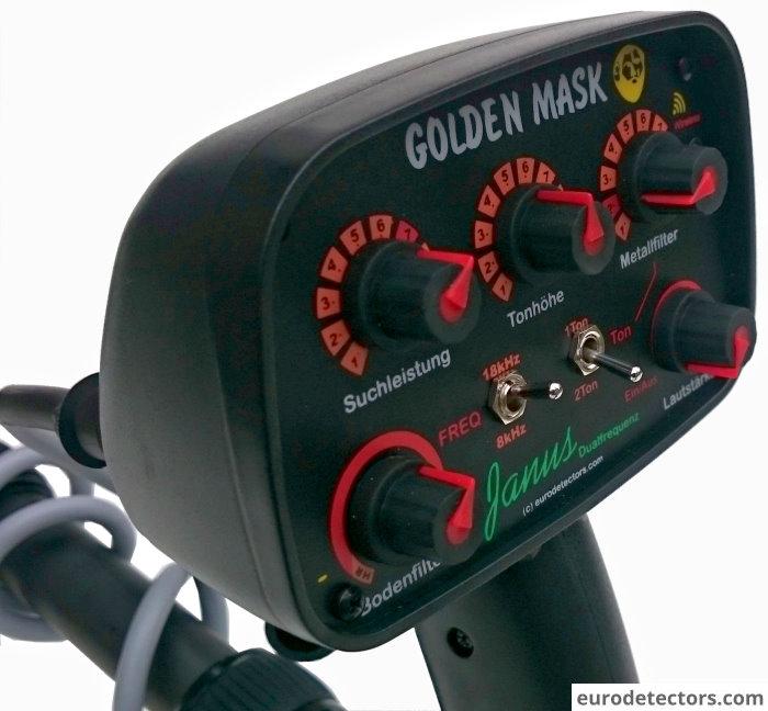 Golden Mask Janus Dualfrequenz Metalldetektor