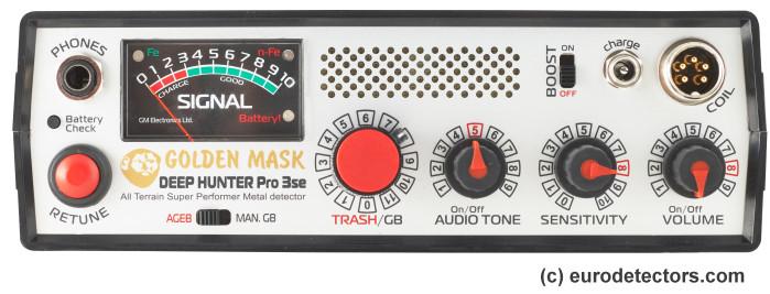 Golden Mask Deephunter Pro 3SE