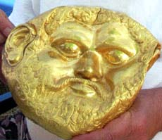 die goldene Maske aus Bulgarien