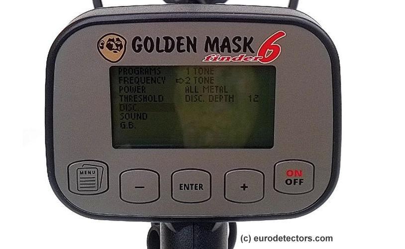 Golden Mask 6 Metalldetektor