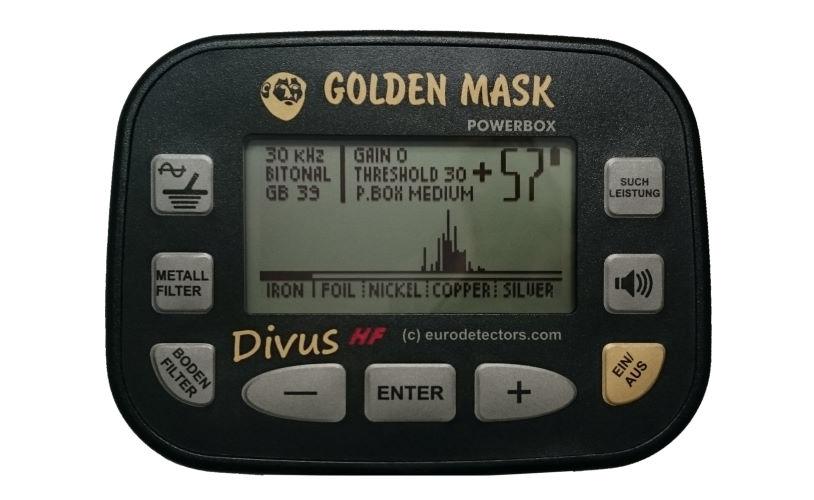 Golden Mask Divus HF Metalldetektor
