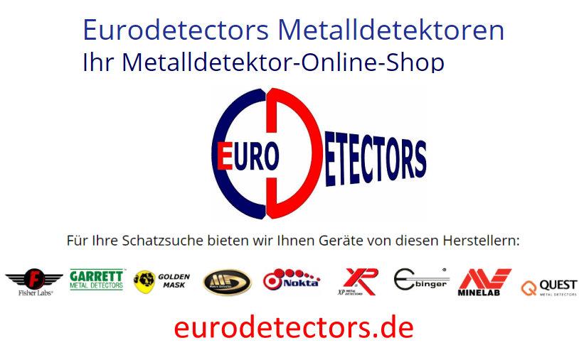 Ihr Metalldetektor von eurodetectors.de