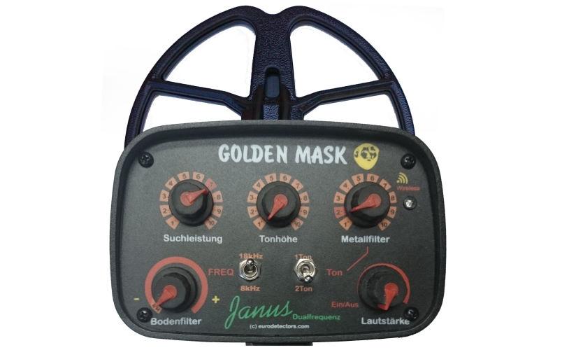 Golden Mask Janus Metalldetektor