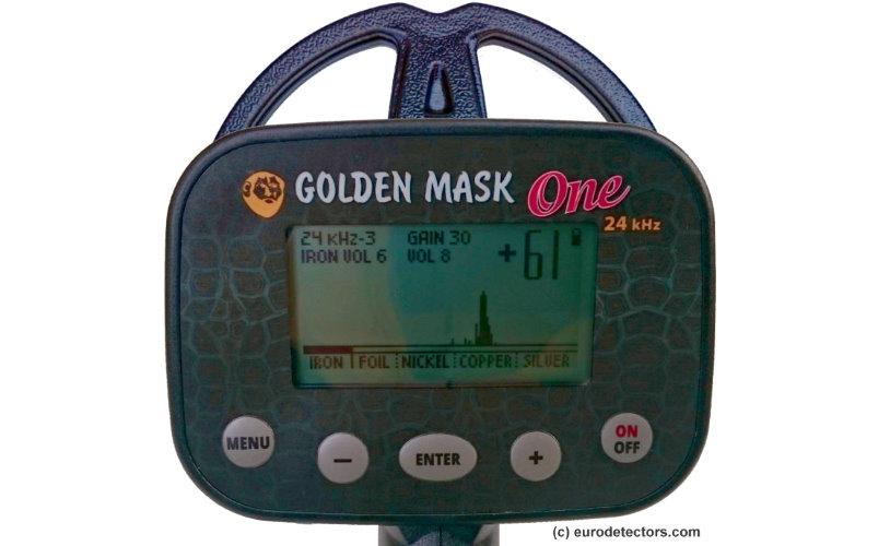 Golden Mask ONE Metalldetektor